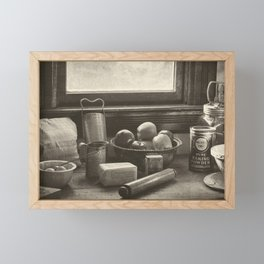 All The Fixings - Vintage Art Framed Mini Art Print