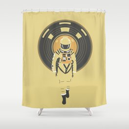 DJ HAL 9000 Shower Curtain