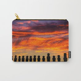 EASTER ISLAND SUNRISE Carry-All Pouch