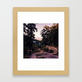 View from Mount Misen - Miyajima Japan Framed Art Print