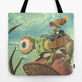 """The Search, 13""""x24"""" Tote Bag"""