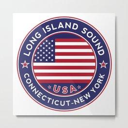 Long Island Sound, Connecticut Metal Print