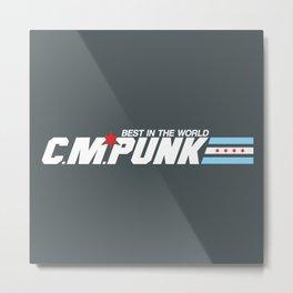 G.I. Punk Metal Print