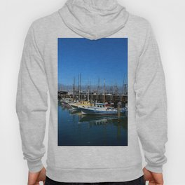 Fishing Boats At Fisherman`s Wharf - San Francisco Hoody