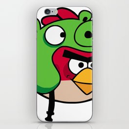 Angry Upgrade iPhone Skin