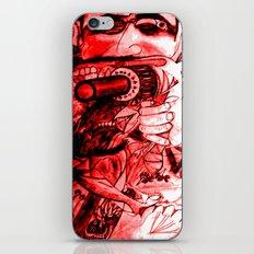 Back Off!!! 2 iPhone & iPod Skin