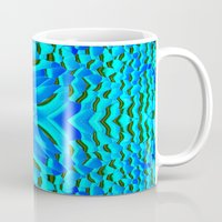 fishing Mugs featuring Fishing... by Cherie DeBevoise