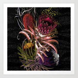 Australian Native Flora Art Print