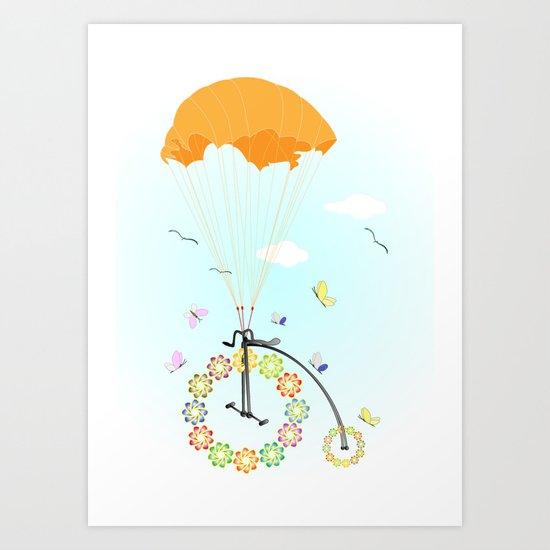 Spring Express Art Print