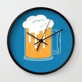 City Beer Wall Clock