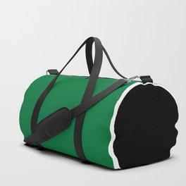TEAM COLORS 10....GREEN,BLACK Duffle Bag