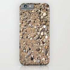 Rocks in Sand Color Nature Photo Slim Case iPhone 6s