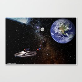 Star  Trecken Canvas Print