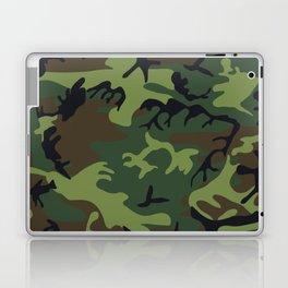 Green Camouflage Laptop & iPad Skin