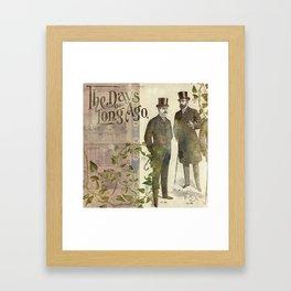 The Days of Long Ago Framed Art Print