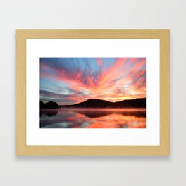 Glory: A Spectacular Sunrise Framed Art Print