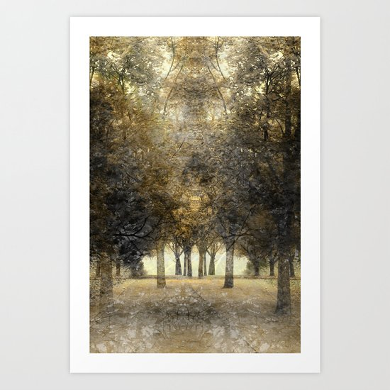 Spirit of the trees Art Print