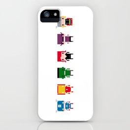 Pixel Avengers iPhone Case