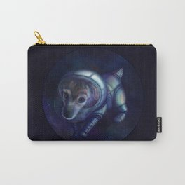 In the footsteps of Belka and Strelka Carry-All Pouch