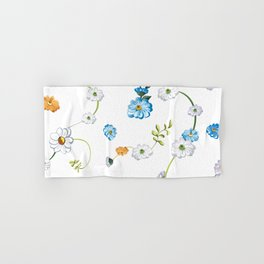 Spring Flowers, Nature 44 Hand & Bath Towel