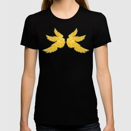 Golden Archangel Wings T-shirt