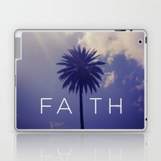 Palm Tree Faith Laptop & iPad Skin
