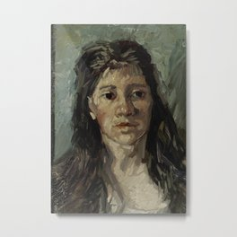 Head of a Prostitute Metal Print