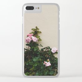 Wallflowers Clear iPhone Case