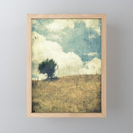 Lonely Tree Framed Mini Art Print