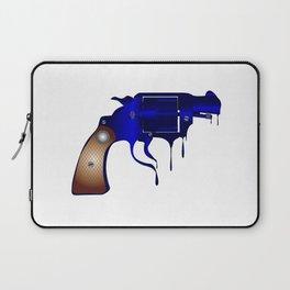 Melting Gun Laptop Sleeve