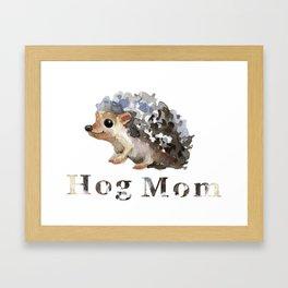 hog mom Framed Art Print