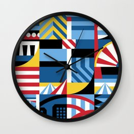 Coney Wall Clock