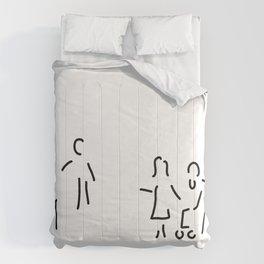 geriatric nurse old people's home Comforters