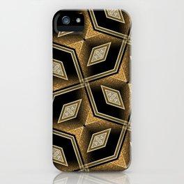 Earthman   Geometric Diamonds iPhone Case