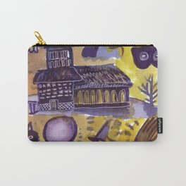 haunted house horror aesthetic pattern Carry-All Pouch