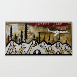 Gutter Boy Canvas Print