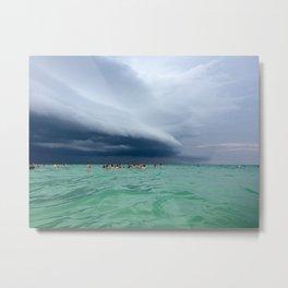 PCB Storm Metal Print