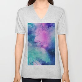 Purple Universe Unisex V-Neck