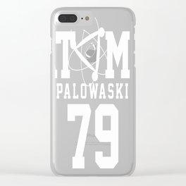 Palowaski 79 Clear iPhone Case
