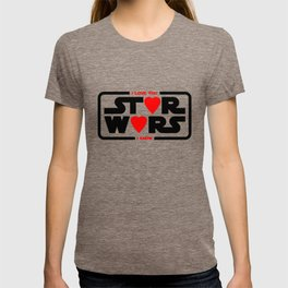 Star - I love you - I know - Wars T-shirt
