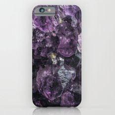 amethyst geode iPhone 6s Slim Case