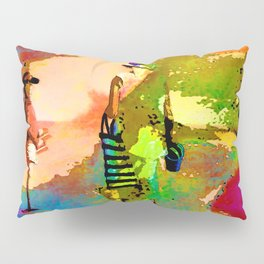jardin multicolore Pillow Sham