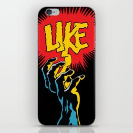 Comic Hands - Like (Doctor Doom Edition) iPhone Skin