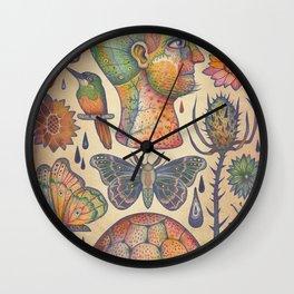 Rebus (The Ingredients) Wall Clock