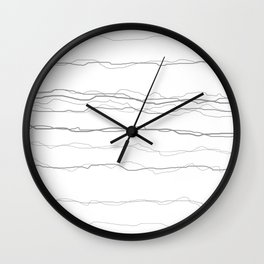 Sketchy No9 Wall Clock