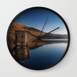 Talybont Reservoir Pump House Wall Clock
