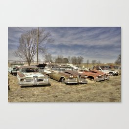 Shamrock Scrap Canvas Print