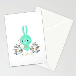 Scandi Rabbit Stationery Cards