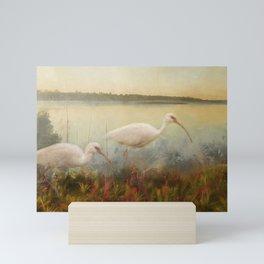 North Carolina Ibis Mini Art Print
