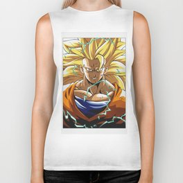 Goku Dragon Ball Biker Tank